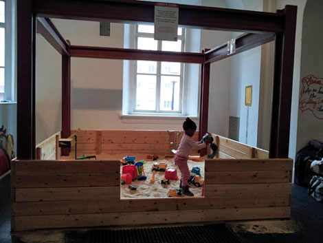 the ultimate sandbox for a rainy, cold winter day