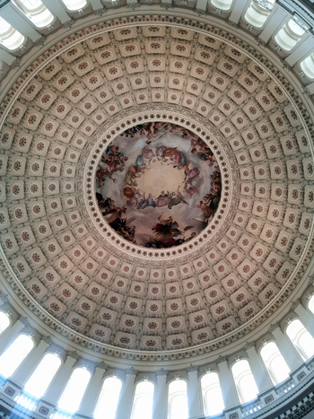 dome in the Rotunda