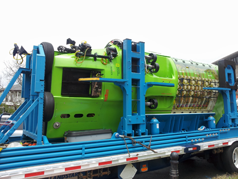 This weird-looking submersible went to the deepest part of the known ocean.